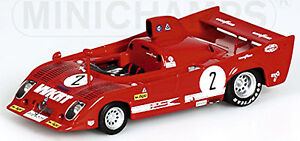 ALFA-ROMEO-33-TT12-1000Km-MONZA-1975-Ganador-2-MERZARIO-LAFFITE-1-43-MINICHAMPS