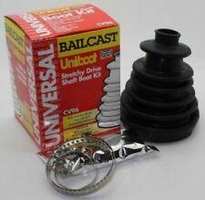 Bailcast CV96 Constant Velocity Gaiter Universal Drive Shaft Joint CV Boot Kit