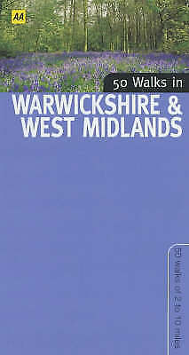 1 of 1 - Good, 50 Walks in Warwickshire, Automobile Association, Book