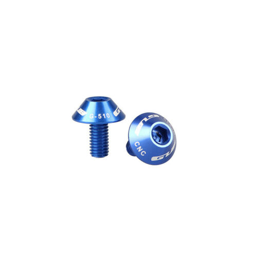 2X Water Bottle Cage Bolts Aluminum Alloy Screws Bike Bicycle Cycling M5*12mm