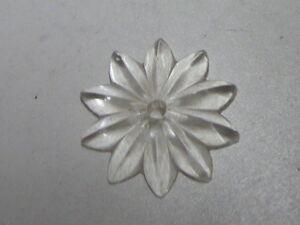 1 Pampille Etoile Xixème En Cristal - D:4.10cm - Fg
