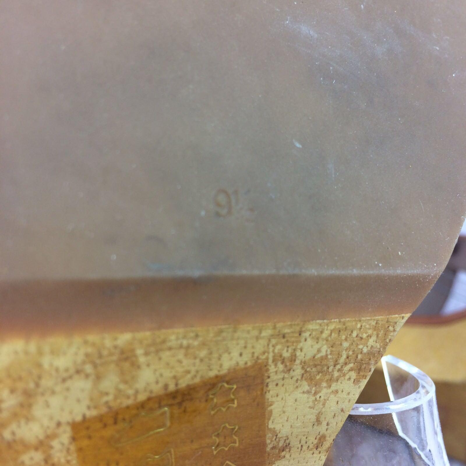 Madewell Irving Sandale Braun Leder Wood Sole Sole Sole Heels SOLD OUT online  Größe 9.5 8acb42