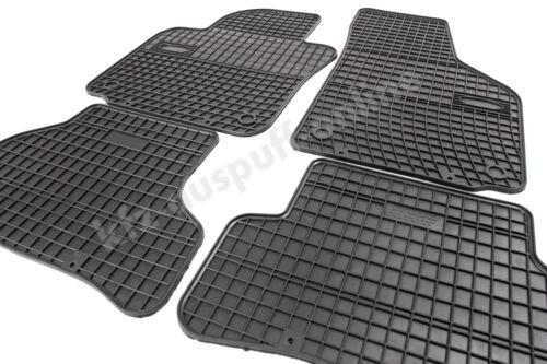 Allwetter Fußmatten Gummimatten für Toyota Yaris II Bj ab 2006 bis 2011