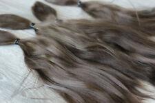 "Mohair Doll Hair color dark blond 8-11""  0.35 oz locks angora DIY baby reborn"