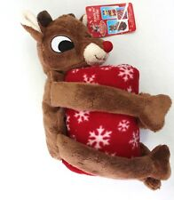 item 1 Rudolph The Red-Nosed Reindeer Rudolph Plush Doll   Fleece Throw  Blanket -Rudolph The Red-Nosed Reindeer Rudolph Plush Doll   Fleece Throw  Blanket c11777564