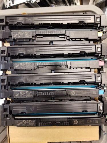 4PK CF410A Toner Cartridge Set For HP 477A Color LaserJet M452nw M477fnw M477fdw