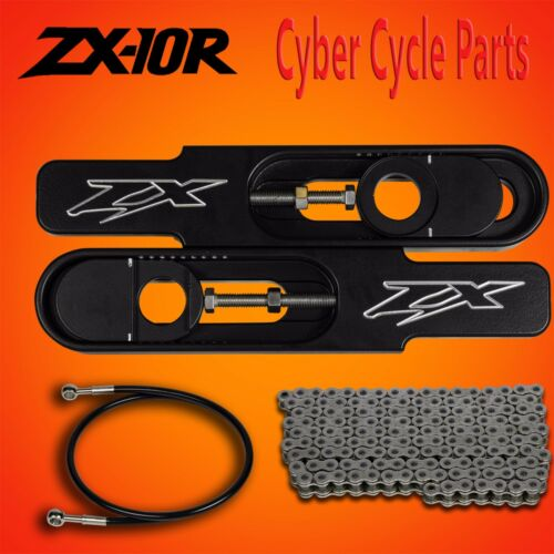 "2017 Kawasaki Ninja ZX-10R ABS 4 1//2 to 9/"" Bolt on Swingarm Extension Kit"