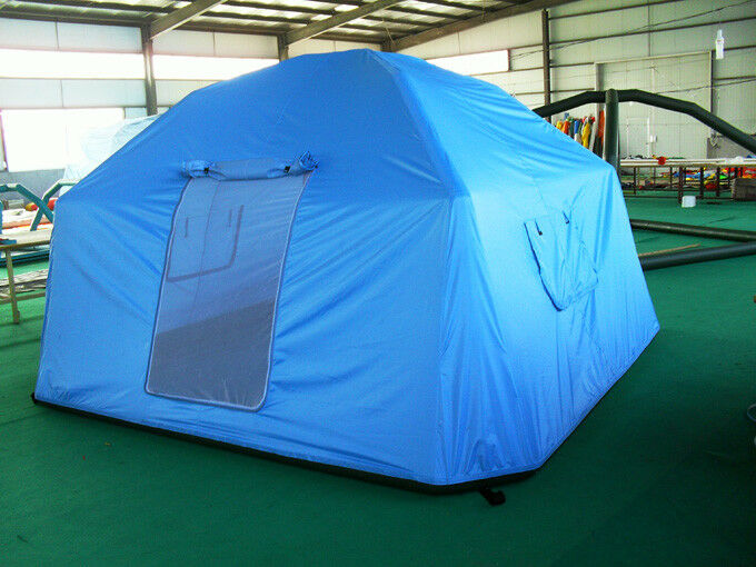 AIR TIGHT WATERPROOF Inflatable Family Camping Recreation Tent W  Pump Brand NEW