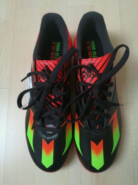 adidas Messi 15.3 TF Fußballschuhe Fußball Schuhe schwarz/rot Gr.42 neu&original