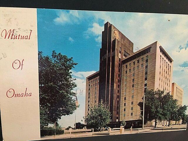Postcard Mutual Of Omaha Company Headquarters In Omaha Ne T5 Ebay