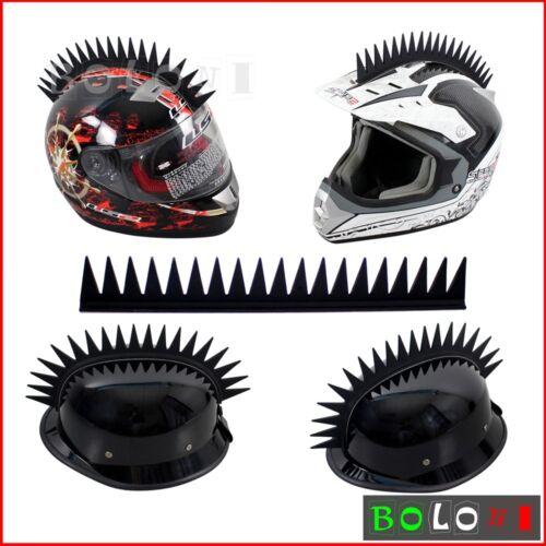 Motorbike Dirt Bike Helmet Mohawk Riding Helmet Decals Sticker Headwear 5 Colors