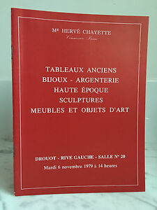 Catalogue-sales-Paintings-old-Bijoux-Silverware-no-20-6-November-1979