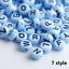 NEW-200-1000pcs-7mm-Mixed-A-Z-Alphabet-Letter-Acrylic-Spacer-Beads-heart-bead thumbnail 9