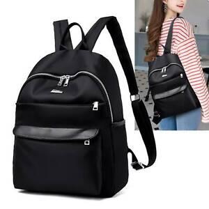 Women-Girls-Ladies-Oxford-Backpack-Rucksack-Travel-Shoulder-College-Soft-Bags