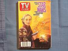 TV GUIDE STAR WARS PHANTOM MENACE MAY 15 1999 #4 NATALIE PORTMAN GEORGE LUCAS EW