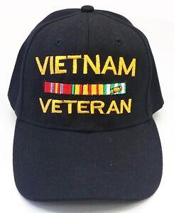 VIETNAM VETERAN MILITARY BASEBALL CAP HAT FREE SHIPPING USA