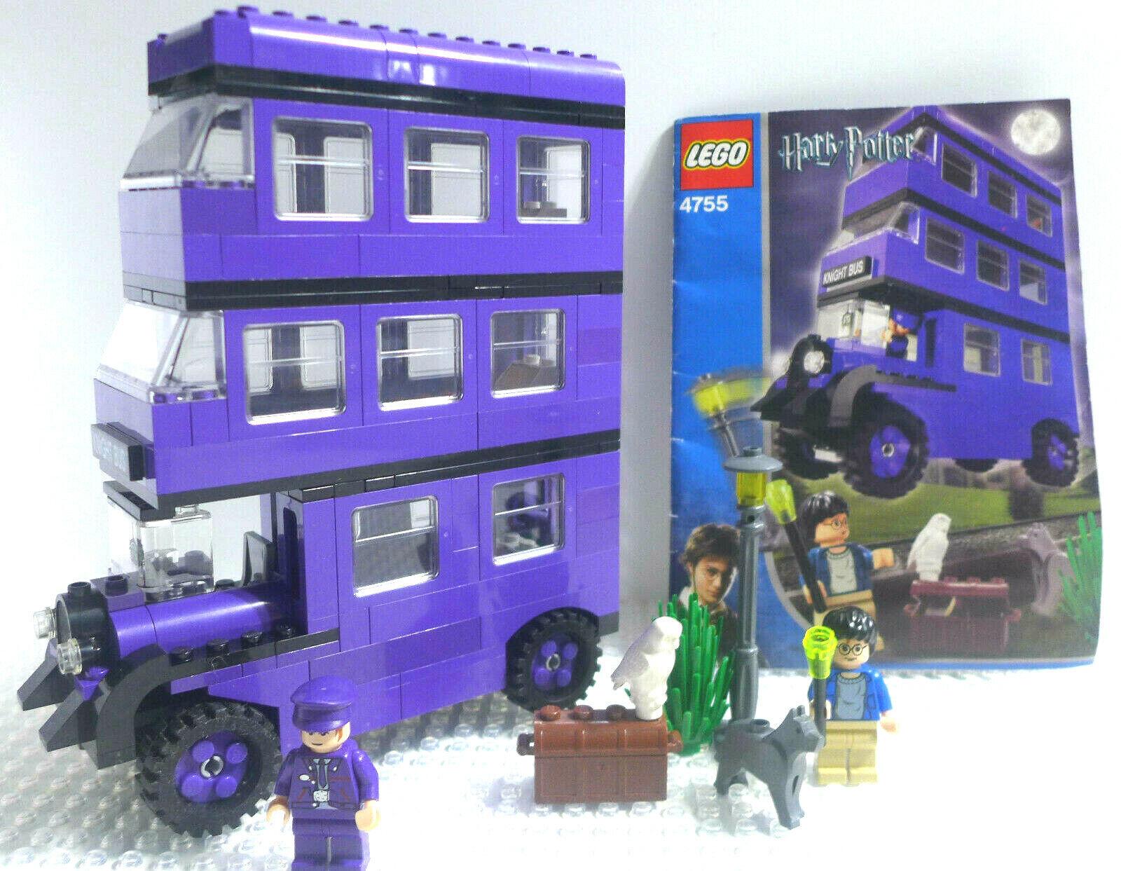 Harry Potter - Knight autobus 4755 w Instructions & Minicifras,  completare, NO scatola  prezzo basso