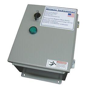 Elimia-Air-Compressor-amp-Pump-Motor-Starter-480V-48-65-Amp-40-HP-NEMA-12