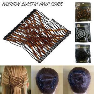 Fashion-Elastic-Hair-Comb-Magic-Beads-Hairpin-Clip-Hairstyle-Design-Accessories
