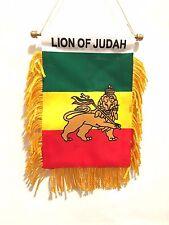 Lion of Judah, Rasta Lion of Judah Car auto flag, Lion of Judah flag Classic