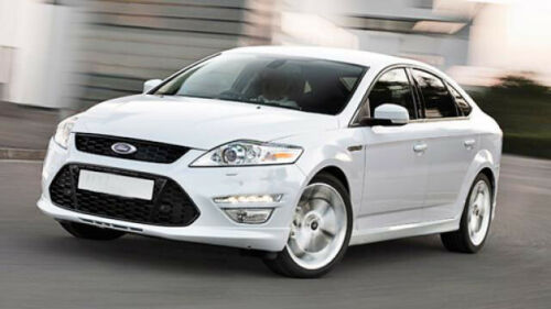 FORD MONDEO RIGHT DRIVERS SIDE FROZEN WHITE PAINTED DOOR WING MIRROR COVER CAP