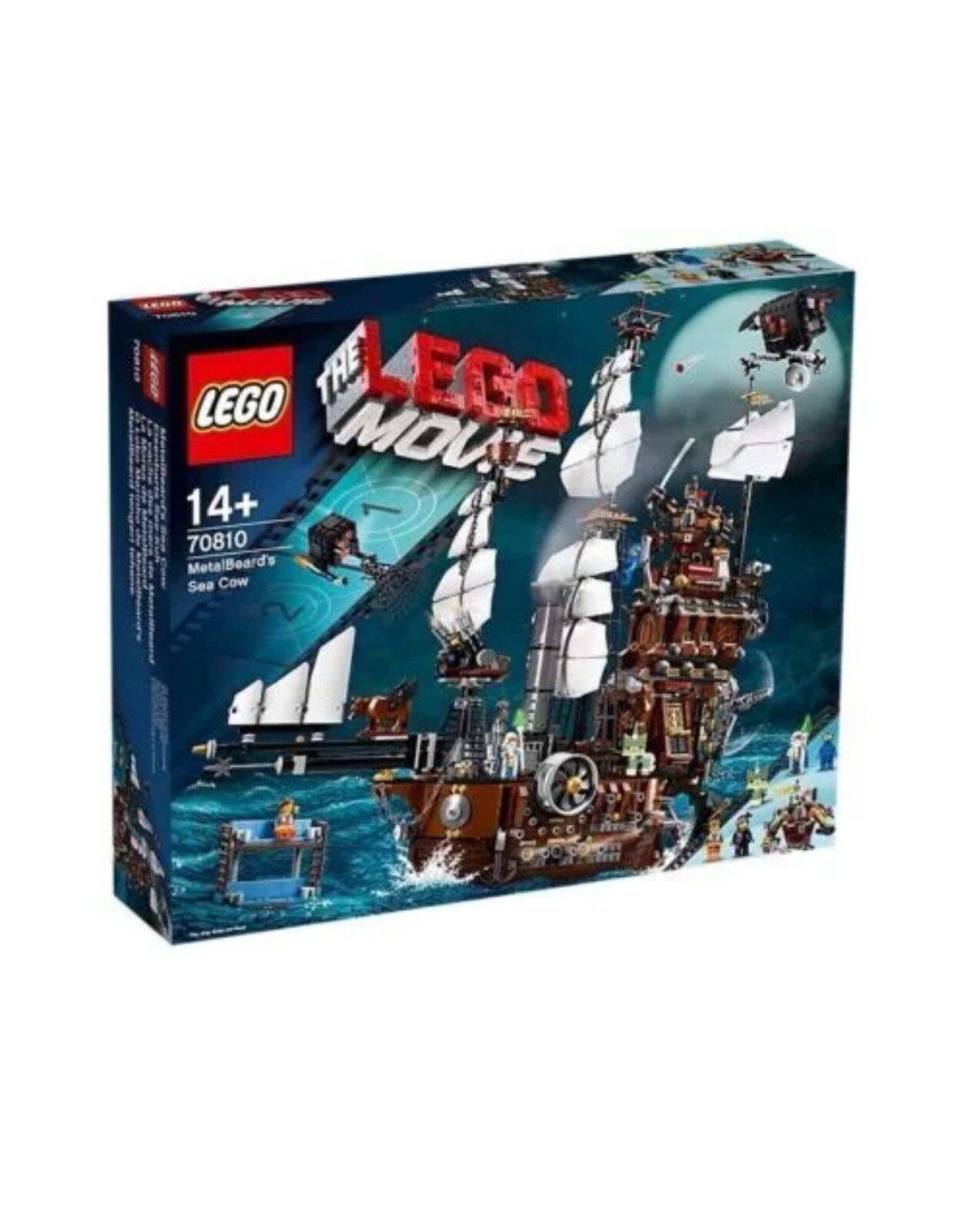 Film Lego 70810 MetalBeard's Sea Cow Neuf Scellé retraité
