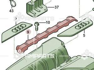 Genuine Cover For Intake Manifold AUDI R8 422 423 427 429 07L133920E