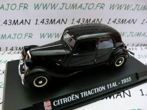 AP68G Voiture 1//43 IXO AUTO PLUS Traction 11 AL 1935 CITROËN