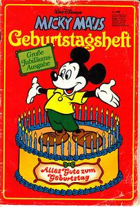 MICKY MAUS - Geburtstagsheft - Große Jubiläums Ausgabe -1928 -1978 - Walt Disney