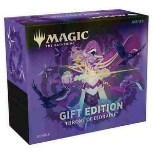 Throne-of-Eldraine-Holiday-Gift-Bundle-NEW-SEALED-MTG-INCLUDES-COLLECTOR-BOOSTER