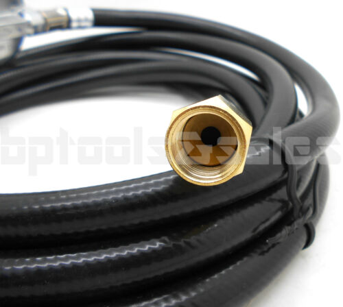 12 Feet Propane Regulator High Pressure LPG BBQ Gas Burner Wok Fryer Hose 20PSI