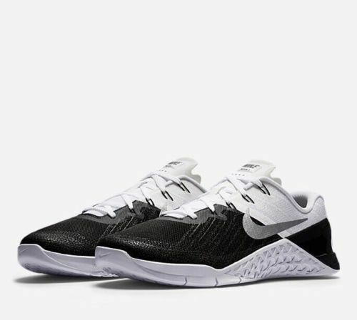 Comfortable and good-looking Mens Nike Metcon 3 852928-005 Black/White Brand New Comfortable