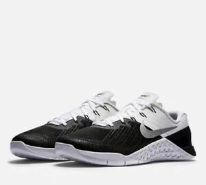 Mens Nike Metcon 3 852928-005 Black/White Brand New Size 9.5