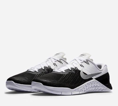 Nike Metcon 3 III Men Training Train Gym Shoes Black White 852928005 12  eBay