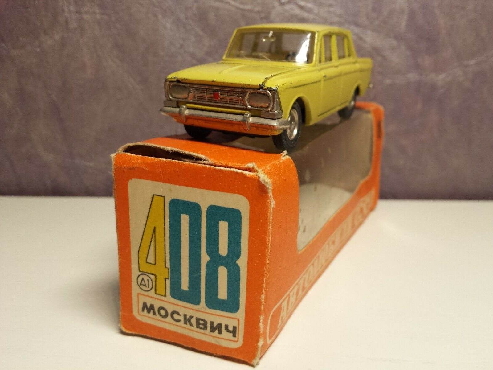 RARE MOSKVITCH 408 A1 Original 1 43 avril 1976 made in URSS