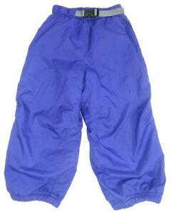 de6bf2cbc5f1 REI Toddler Sled Snow Ski Pants Belted Royal Blue Kids Youth Growth ...