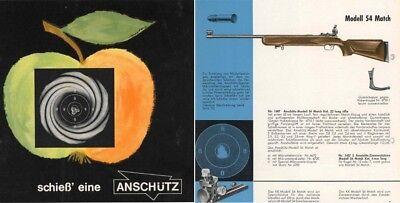 Anschutz 1960 Match Rifle Catalog (in German) | eBay