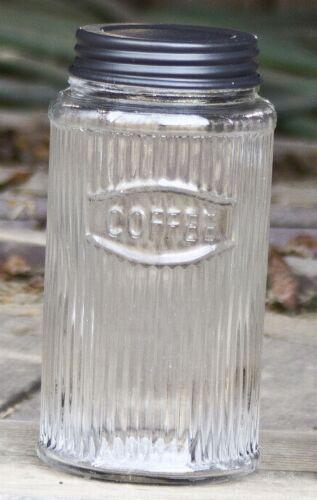 Co Glass 4 piece Canister Set Unique Vintage Rustic Hoosier Kitchen Cabinet Mfg