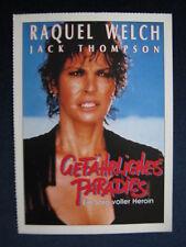 Filmplakatkarte videoplus  Gefährliches Paradies   Racquel Welch