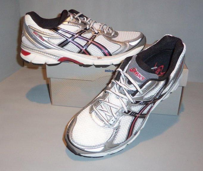 asics Men's Gel-1 White Running Shoes SIZES! NIB NEW