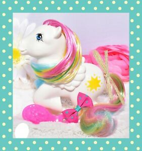 My-Little-Pony-MLP-G1-Vtg-FRANCE-French-Rainbow-STARSHINE-Pegasus-NIRVANA