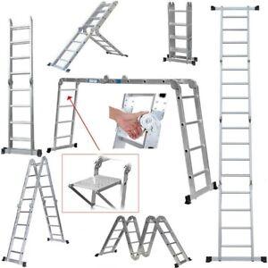 14 in 1 Multi Function Folding Scaffold Ladder (4.7m) - GorillaSpoke for DIY