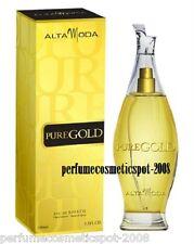 PURE GOLD POUR FEMME ALTA MODA FOR WOMEN 3.3 OZ / 100 ML EAU DE TOILETTE SPRAY