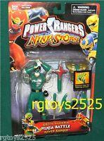Power Rangers Ninja Storm 6 In Green Samurai Ninja Battle Power Ranger 2003