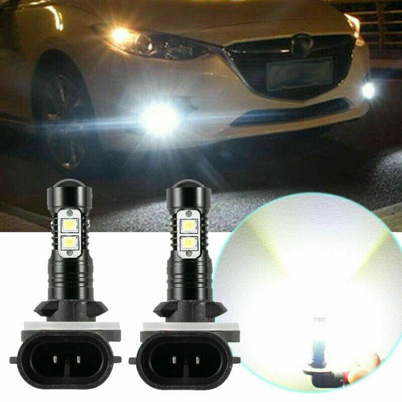 881 COB LED Headlight Bulbs For Polaris Ranger 400 500 570 700 800 ETX EV