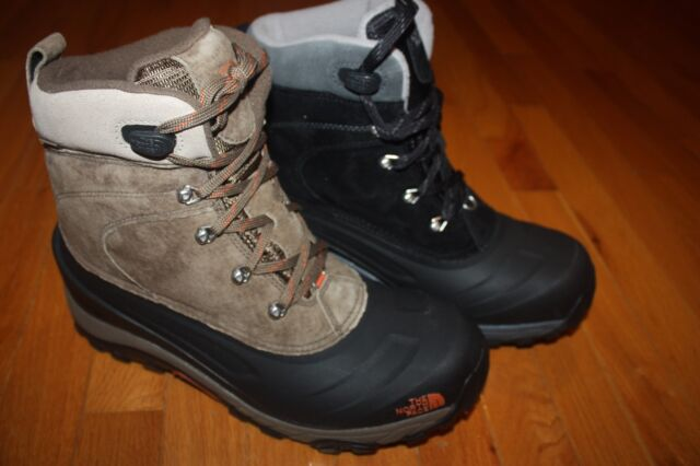 18bdff9c3038 New In Box The North Face Men s CHILKAT II Leather Snow Boots SHIP FREE US  FAST