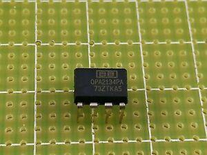 Opa2134pa circuito integrato dip-8