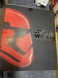 Star Wars The Black Series Galaxy's Edge Captain Cardinal Helmet IN HAND NOW