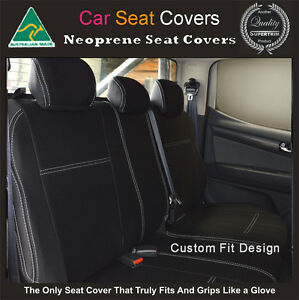 Seat Cover fits Nissan Pathfinder Front 100/% Waterproof Premium Neoprene