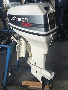 1992 johnson evinrude 50 hp carbureted 20 outboard boat for Power trim motor for johnson outboard